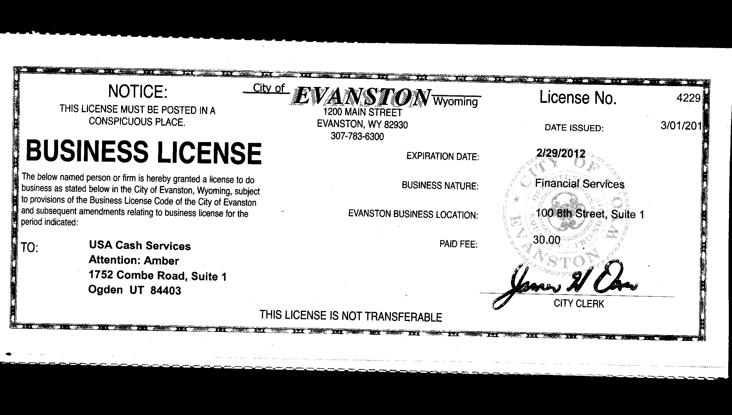 State of wyoming business license best business 2018 for Oklahoma fishing license cost